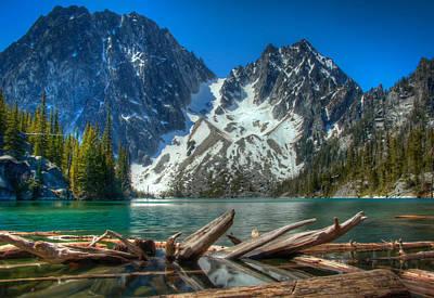 Washingotn Photograph - Glacier Bathtub by Ryan McGinnis