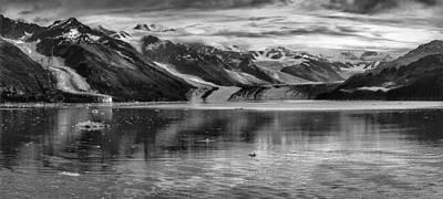 Glacier Bay Alaska Panorama  Art Print