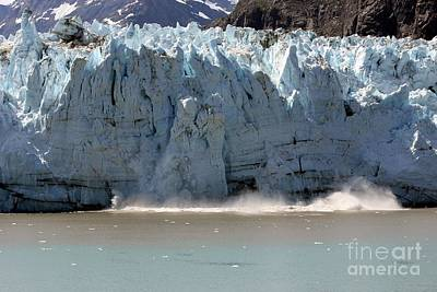 Glacier Bay Alaska Art Print by Sophie Vigneault