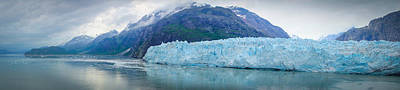 Art Print featuring the photograph Glacier Bay Panoramic by Janis Knight