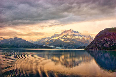 Art Print featuring the photograph Glacier Bay Reflections by Janis Knight
