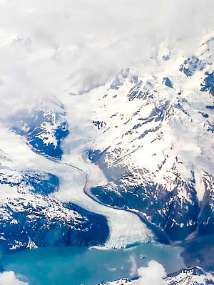Photograph - Glacier Bay by Shey Stitt