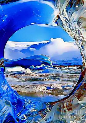 Painting - Glacier by Catherine Lott