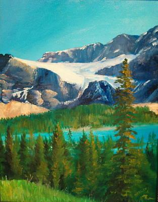 Glacier Art Print by Ellen Canfield