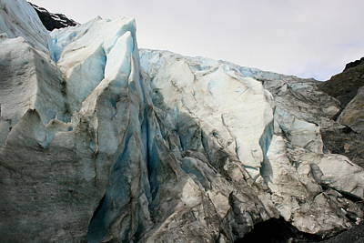 Photograph - Glacier Ice by Betty-Anne McDonald