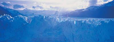 Glacier In A National Park, Moreno Art Print by Panoramic Images