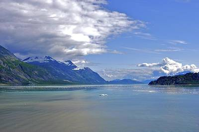 Photograph - Glacier In Bay  by Ralph Jones