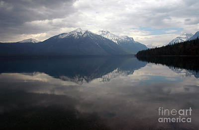 Photograph - Glacier In The Fall by Cindy Murphy - NightVisions
