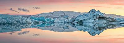 Lagoon Photograph - Glacier Lagoon by Raymond Hoffmann