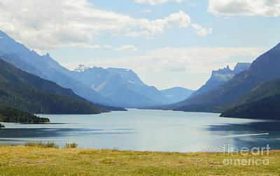 Photograph - Glacier Lake Canada by Patricia  Tierney