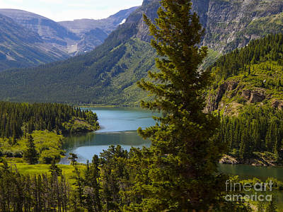 Photograph - Glacier Lake by Patricia  Tierney