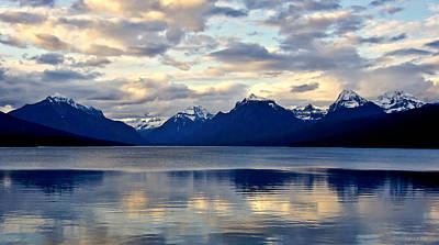 Photograph - Glacier Morning by Andrea Platt