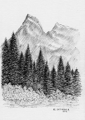 Glacier Nat. Park Art Print