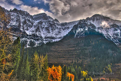 Photograph - Glacier National Park Montana by Brenda Jacobs