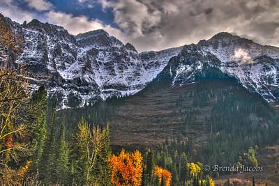 Photograph - Glacier National Park Montana by Brenda Jacobs