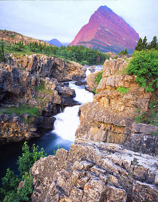 Photograph - Glacier National Park by Ray Mathis