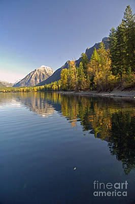 Photograph - Glacier Np In September by Cindy Murphy - NightVisions
