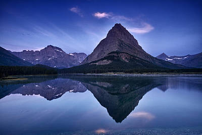 Glacier Park Reflection Art Print by Andrew Soundarajan