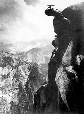 Photograph - Glacier Point, 1890s by Science Source