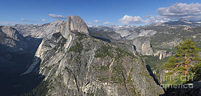 Photograph - Glacier Point Pano by Bill Singleton