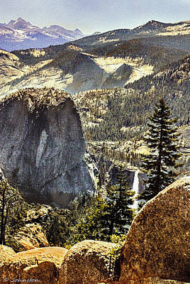 Photograph - Glacier Point Yosemite N P by Bob and Nadine Johnston
