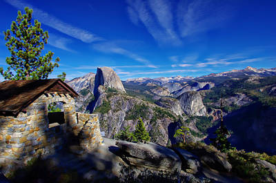 Half Dome Photograph - Glacier Point Yosemite National Park by Scott McGuire