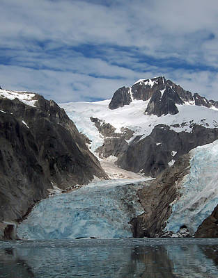 Photograph - Glacier Reflection by Aimee L Maher Photography and Art Visit ALMGallerydotcom