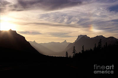Landscape Photograph - Glacier Sunset by Sharon Elliott
