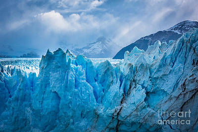 Jagged Photograph - Glacier Symphony by Inge Johnsson