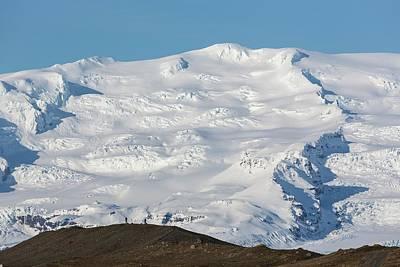 Glacierized Oraefajokull Volcano Art Print by Dr Juerg Alean