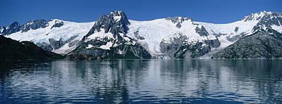 Glaciers Northwestern Fjord Kenai Alaska Art Print