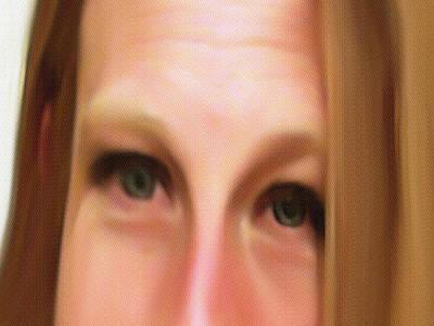 Portrait Study Mixed Media - Glad by Dennis Buckman