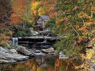 Photograph - Glade Creek Grist Mill 2013 by Daniel Behm