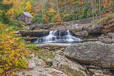 Photograph - Glade Creek Grist Mill At Babcock State Park by Willie Harper
