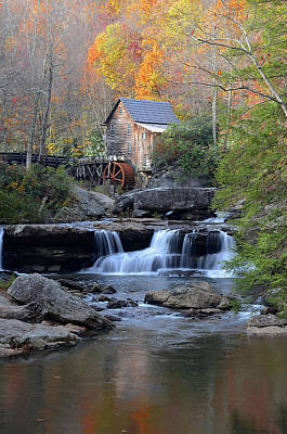 Photograph - Glade Creek Grist Mill by Jamie Pattison