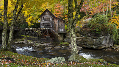 Photograph - Glade Creek Grist Mill by Michael Donahue