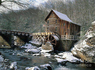 Photograph - Glade Creek Grist Mill In West Virginia by David Davis