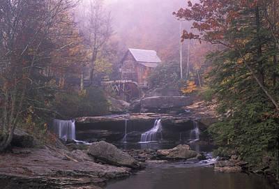 Photograph - Glade Creek Mill 02 by Jim Dollar