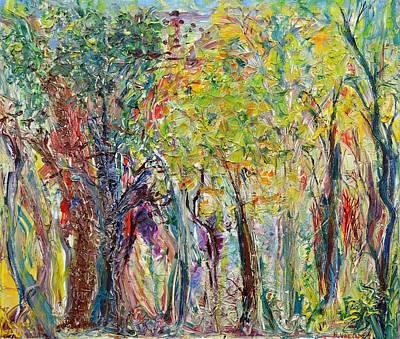 Open Impressionism California Desert - Glade by Regina Valluzzi