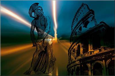 Digital Art - Gladiator by Michael Damiani