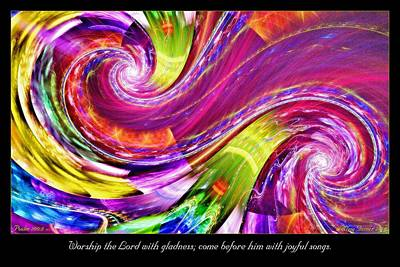 Digital Art - Gladness by Missy Gainer