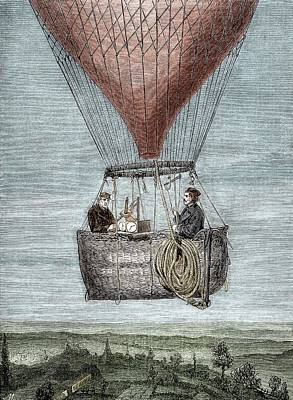 Barometer Photograph - Glaisher-coxwell Balloon Flight by Sheila Terry