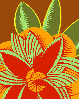 Digital Art - Glamarita Early Autumn by Nancy Lorene