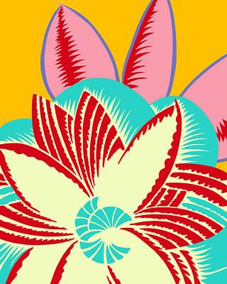 Digital Art - Glamarita Seaside Retro by Nancy Lorene