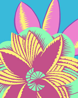 Digital Art - Glamarita Spring Breeze by Nancy Lorene