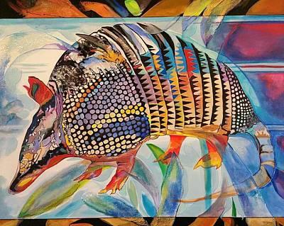 Painting - Glamoridillo by John  Duplantis