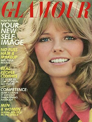 Photograph - Glamour Cover Featuring Cheryl Tiegs by William Connors