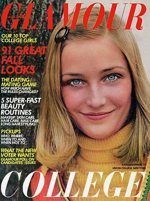 Photograph - Glamour Cover Featuring Kate White by William Connors