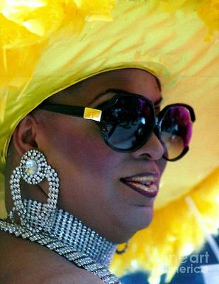 Photograph - Glamour Diva Eye See Colours At The Southern Decadence In New Orleans Louisiana by Michael Hoard