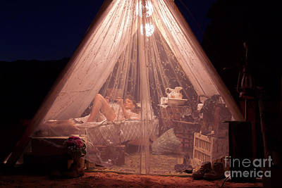 Photograph - Glamping by MAD Art and Circus